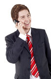 Business man talking on the phone Stock Photos
