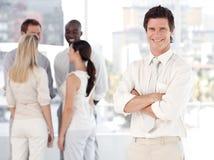 business man team Стоковые Изображения RF