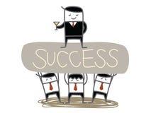Free Business Man Team Lift Boss Stock Image - 32443101