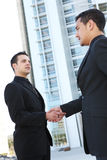 Business Man Team Shaking Hands Royalty Free Stock Image