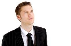 Business man thinking Stock Image