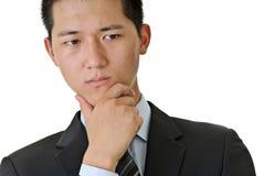 Business man thinking Stock Photos