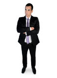 Business man thinking solution Stock Photography