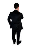 Business man  thinking solution Stock Images