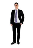 Business man  thinking solution Royalty Free Stock Photography
