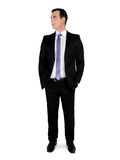 Business man  thinking solution Stock Photos