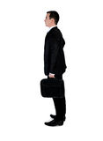Business man  thinking solution Royalty Free Stock Photo