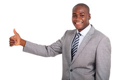 Business man thumb up Stock Photo