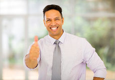 Business man thumb up Stock Photo
