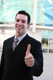 Business Man Thumbs Up royalty free stock image