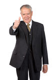 Business man thumbs up Royalty Free Stock Photos