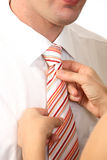 Business man with tie Royalty Free Stock Image