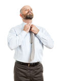 Business man tie Stock Image