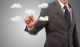 Cloud server concept Stock Photo