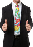 Business Man Travel Tie stock image