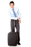 Business man traveling Stock Image
