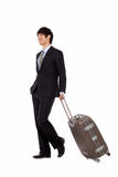 Business man and trip. Royalty Free Stock Photography