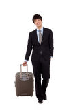 Business man and trip. Stock Photography