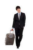 Business man and trip. Royalty Free Stock Photo