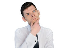 Business man upset Royalty Free Stock Images