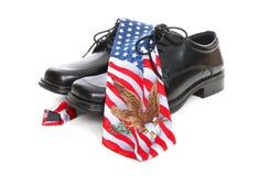 Business Man USA Theme Royalty Free Stock Photo