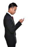 Business man use mobile phone Stock Photography