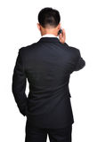 Business man use mobile phone Royalty Free Stock Photo