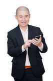 Business man using smart phone Stock Photo