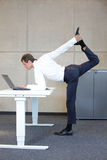 Business man v3.0 - Young fit ,corporate warrior stock image