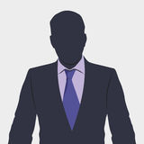 Business man. Vector. Silhouette of business person in suit. Background vector illustration picture Stock Photo