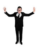 Business man very happy Royalty Free Stock Photo