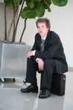 Business Man Waiting Stock Photos