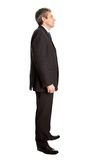 Business man waiting in queue Stock Image