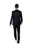Business man walk away Royalty Free Stock Photography