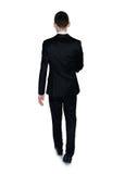 Business man walk away Royalty Free Stock Photos