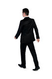 Business man walk away Stock Image