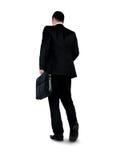 Business man walk back Stock Photography