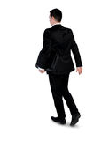 Business man walk back Royalty Free Stock Images