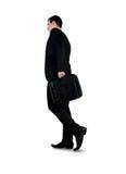 Business man walk back Stock Image