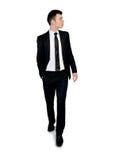 Business man walk forward Stock Photography