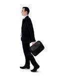 Business man walk side Stock Image