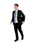 Business man walk side Royalty Free Stock Image