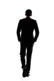 Business man walk Stock Photography