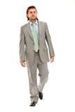 Business man walking Royalty Free Stock Photo