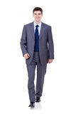 Business man walking Royalty Free Stock Photos