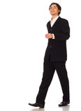 Business man walking Royalty Free Stock Image