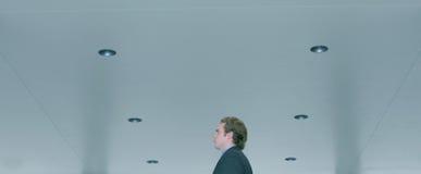 business man walking Στοκ Φωτογραφίες