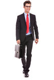 Business man is walking Royalty Free Stock Photo