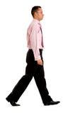 Business man walking Stock Image