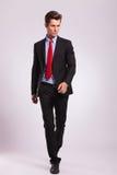 Business man walking forward Royalty Free Stock Photo